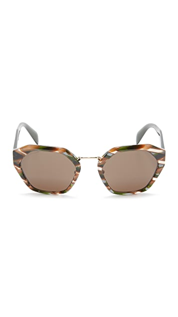 Prada Hexagon Sunglasses