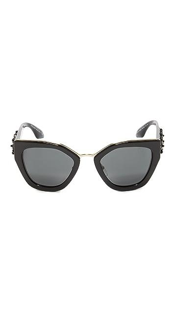 Prada Jeweled Sunglasses