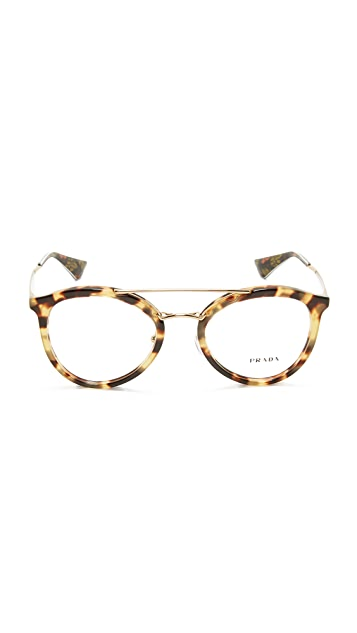 Prada Brow Bar Glasses