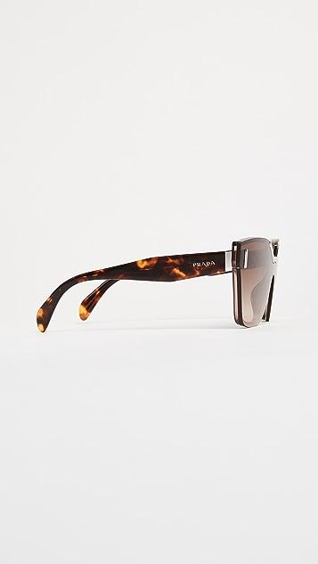 Prada Hide Catwalk Sunglasses