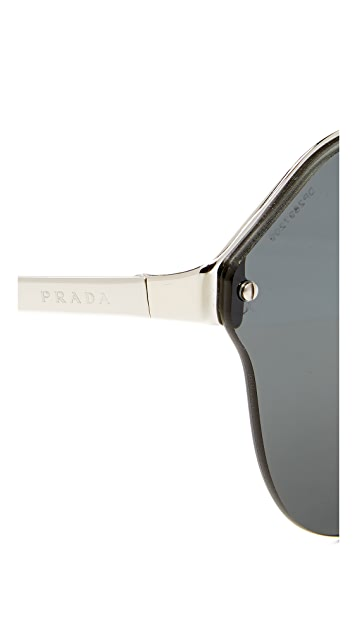 Prada Cinema Oval Sunglasses