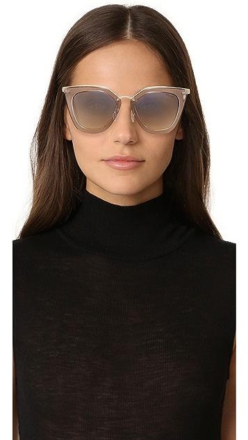 Prada Transparent Sunglasses