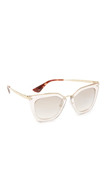 Prada Transparent Sunglasses
