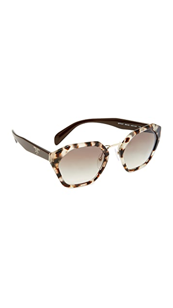 Prada Geometric Sunglasses