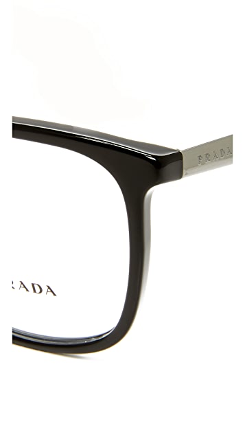 Prada PR07UV Square Eyeglasses