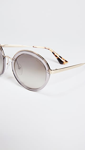 Prada Round Glasses