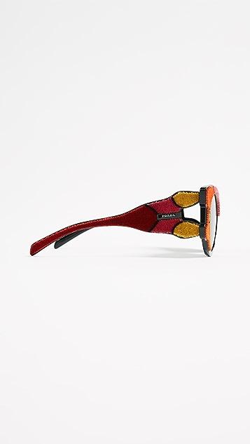 Prada Velvet Sunglasses