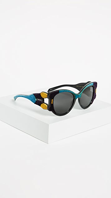 Prada Velvet Cat Eye Sunglasses