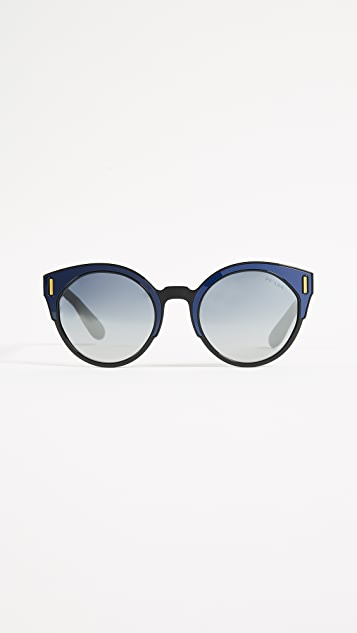 Prada Colorblock Sunglasses