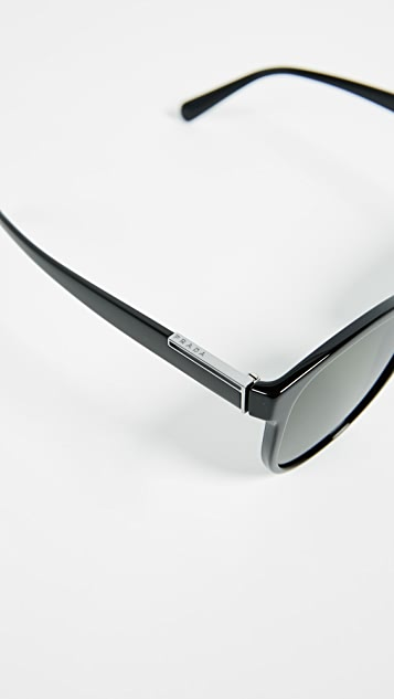 Prada Plaque Sunglasses