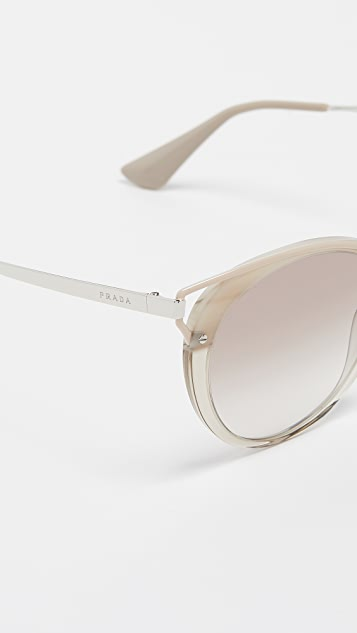 Prada Round Cat Sunglasses