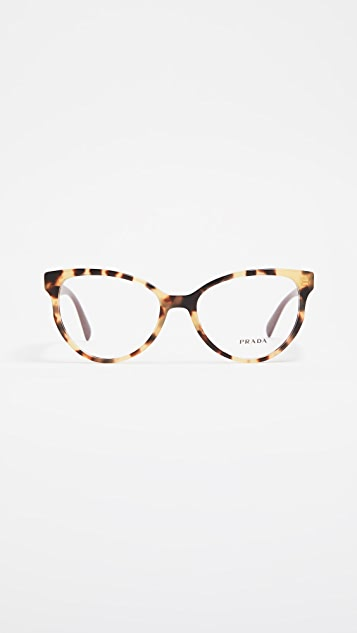 1f5a19744 Prada Cat Eye Glasses | SHOPBOP