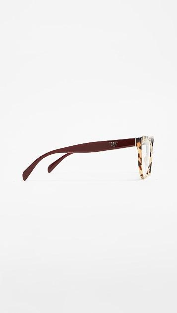 Prada Cat Eye Glasses