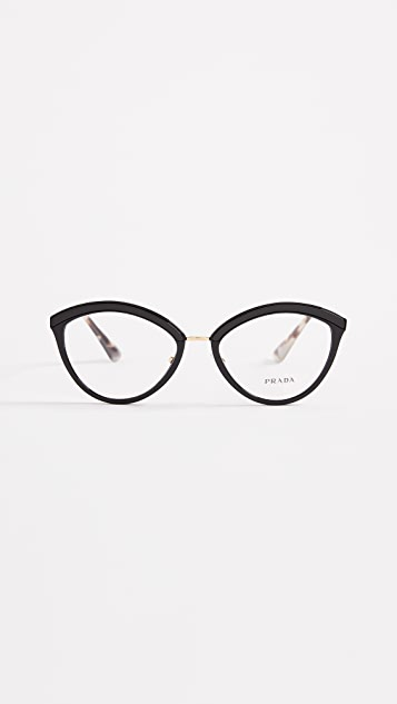 Prada Cat Eye Glasses