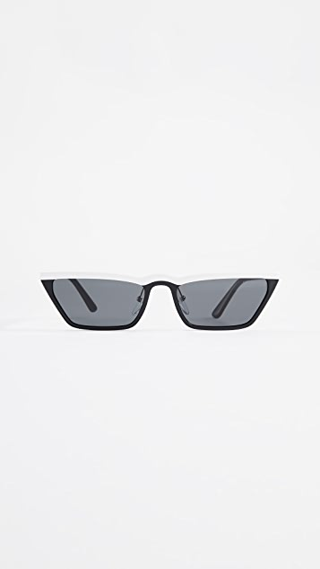 Prada PR19US Ultravox Skinny Narrow  Sunglasses