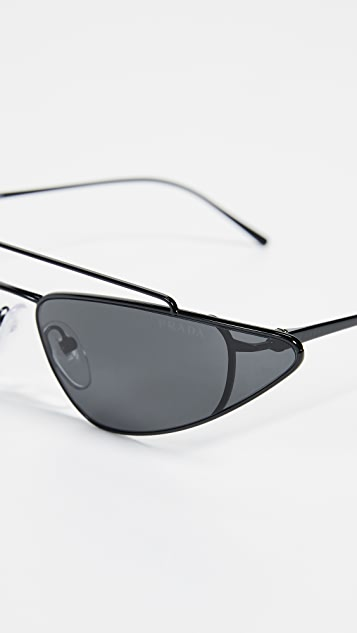Prada Ultravox Cateye Sunglasses