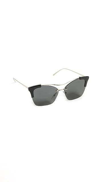Prada Sleek Square Sunglasses