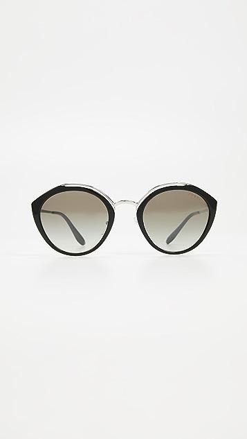 77030af3bf Prada PR18US Oval Sunglasses