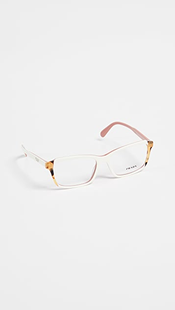 Prada Rectangle Glasses
