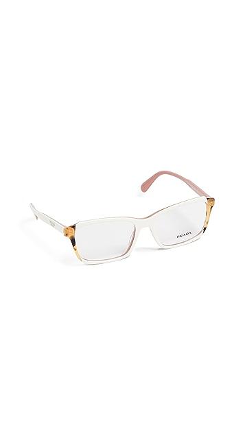 Prada PR01VV Rectangle Eyeglasses
