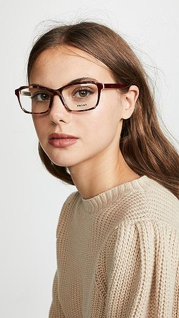 Prada Rectangle Glasses