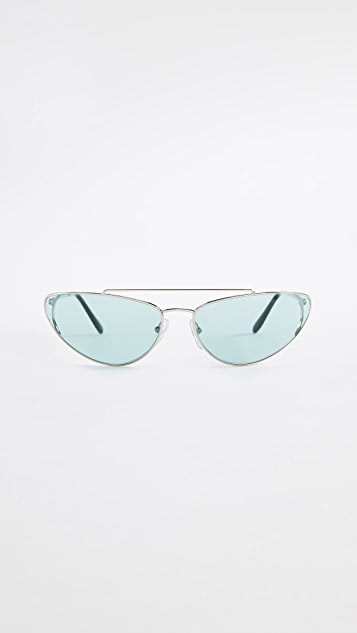 Prada PR 62VS Cat Eye Sunglasses