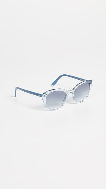 Prada PR 02VS Ultravox Cat Eye Sunglasses