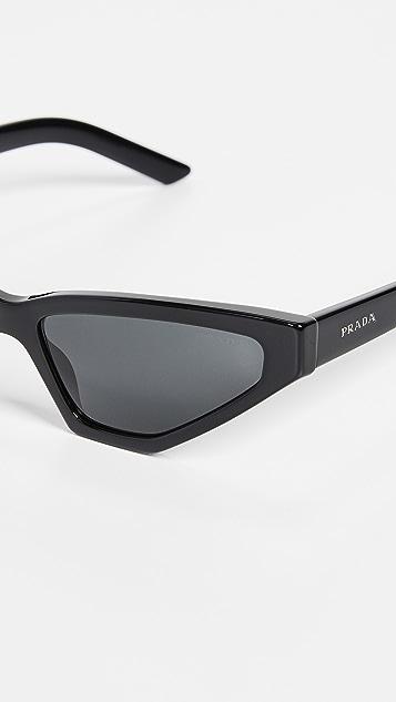 Prada PR 12VS Millennial 窄版猫眼太阳镜