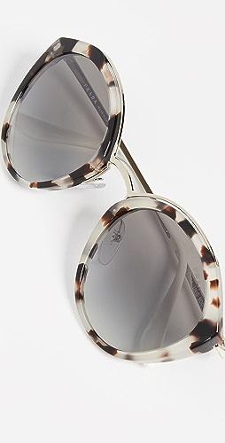Prada - PR 18US Oval Sunglasses