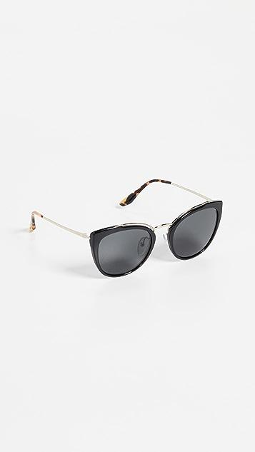 Prada PR 20US Cat Eye Sunglasses