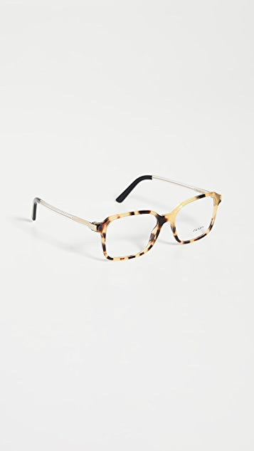 Prada Classic Square Glasses