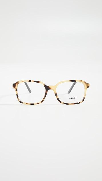 Prada Классические квадратные солнцезащитные очки