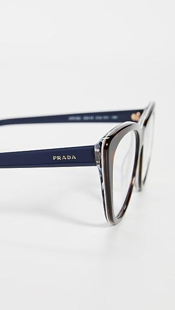 Prada Classic Cat Eye Glasses