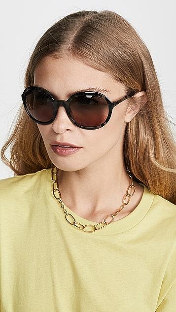 Prada Oversized Round Sunglasses