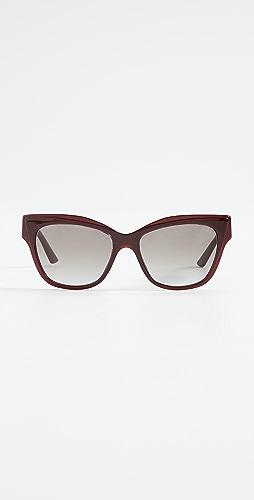 Prada - Monochrome Logo Classic Sunglasses