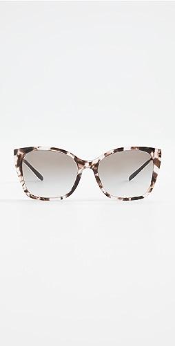 Prada - Classic Metal Acetate Square Sunglasses
