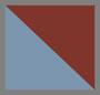 Striped Brown/Azure Grad Blue