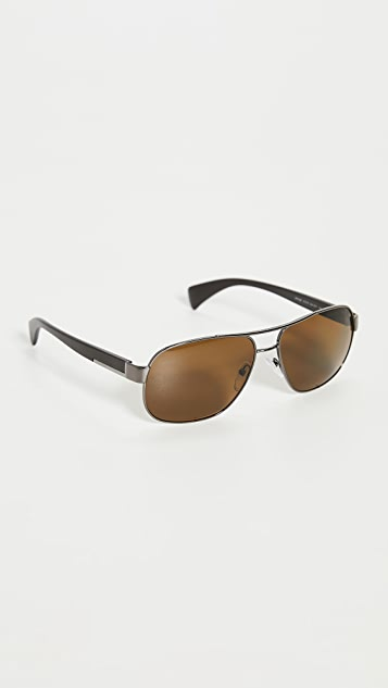 Prada Aviator Polarized Sunglasses