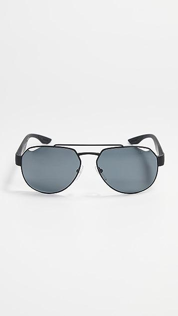 Prada Linea Rossa 0PS 57US Polarized Sunglasses