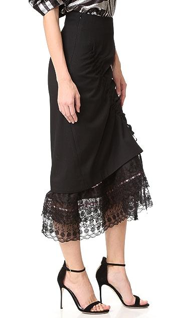 Preen By Thornton Bregazzi Owen Lace Skirt