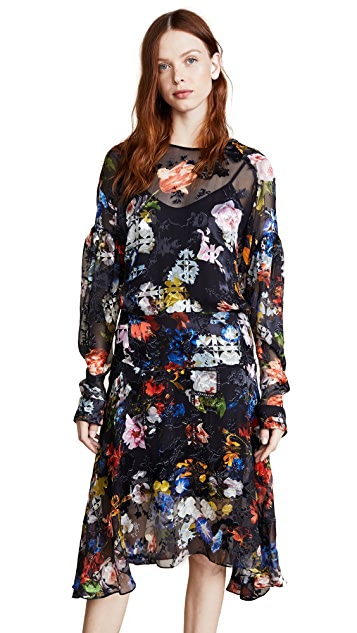 Preen By Thornton Bregazzi Amias Dress with Silk Slip