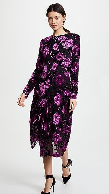 Preen By Thornton Bregazzi Alyssa Dress with Black Silk Slip