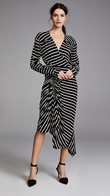 Preen By Thornton Bregazzi Annabel Striped Dress