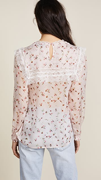 Preen By Thornton Bregazzi Sara Sheer Top