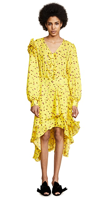Preen By Thornton Bregazzi Margot Floral Dress
