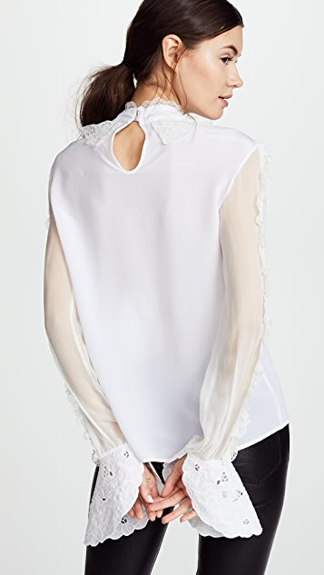 Preen By Thornton Bregazzi Bloom Blouse