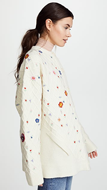 Preen By Thornton Bregazzi Diana Knit Cardigan