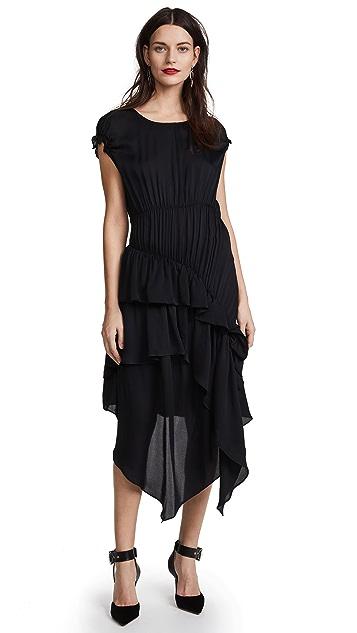 Preen By Thornton Bregazzi Preen Line Poppy Tiered Dress