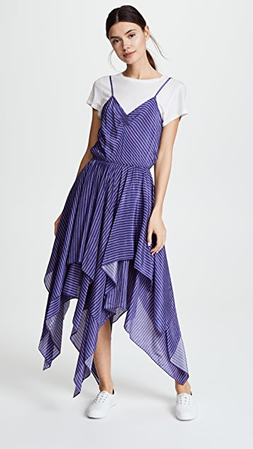 Preen By Thornton Bregazzi Preen Line Myla Striped Dress