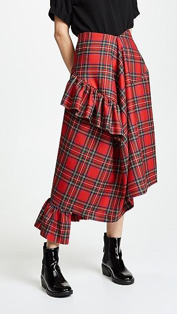 Preen By Thornton Bregazzi Morgan Plaid Skirt